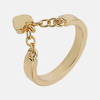 Topshop 'Heart Chain' Ring | Nordstrom