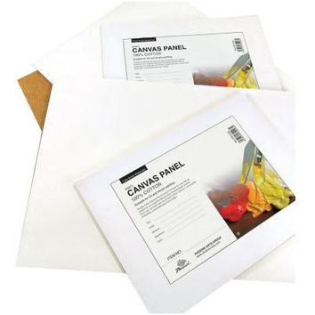 14x18 Cotton Canvas Panels - 12 Pack