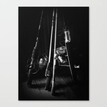 Fishing Gear Art Print by judygreen