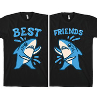 BEST FRIEND LEFT SHARK TEE - PREORDER