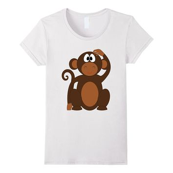 Monkey Costume Shirt Jungle Theme Party Halloween Wildlife