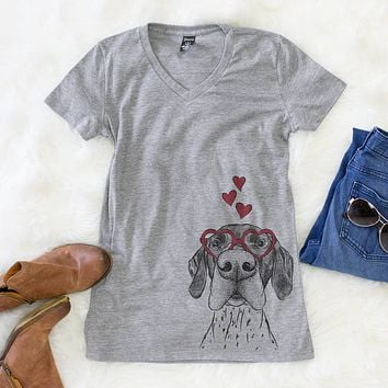 Booze the German Shorthaired Pointer  - Valentine Collection