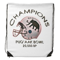 University of Beringia Puq'aak Bowl Championship Drawstring Bag