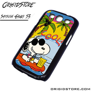 Snoopy Cool Case For Samsung Galaxy S3 Case