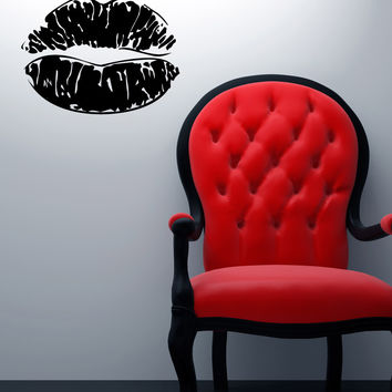 Vinyl Wall Decal Sticker Lipstick Lips #1292