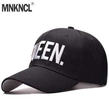 Trendy Winter Jacket MNKNCL Hot Selling King Queen Letter Embroidery Baseball Cap Couples Hip Hop Snapback Cap for Man Hat Women bone aba reta gorr AT_92_12