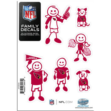 NFL Team Family Decal Set Small