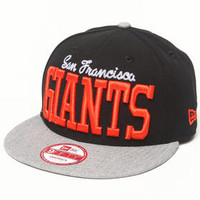 San Francisco Giants NE V-Team Snapback hat by New Era