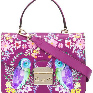 Furla Owl Painted Metropolis Bag - Farfetch