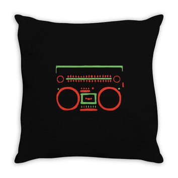 a tribe called quest   speaker hip hop the cutting edge Throw Pillow