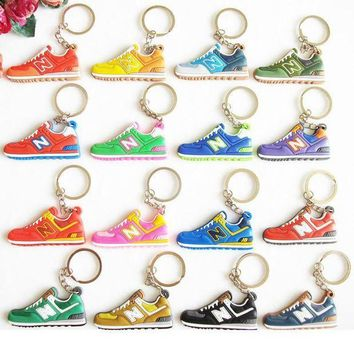 CREYONV cute new balanceer 574 keychain key chain sneaker keychain kids key rings women key holder chaveiro llaveros  1