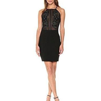GUESS Women's Sleeveless Embroidered Penny Dress
