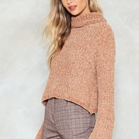 Knit Guilty Chenille Sweater