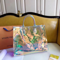 Louis Vuitton LV Women Laser Bags Tote Handbag Shoulder Bag