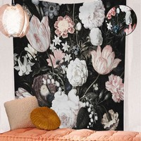Trendy Flower Tapestry