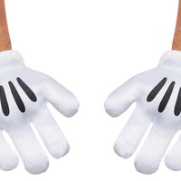 Mickey Mouse Adult Gloves for Halloween