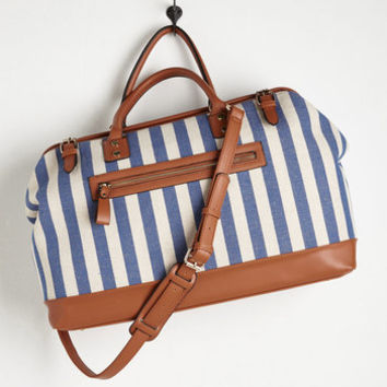 Nautical Impromptu Escape Weekend Bag by ModCloth