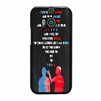 twenty one pilots quotes htc one cases m8 m9 xperia ipod touch nexus