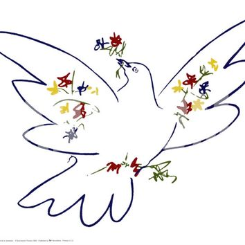 Dove of Peace Art Print by Pablo Picasso at Art.com