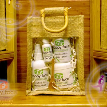 Facial Set Gift Bag-Sensitive Skin