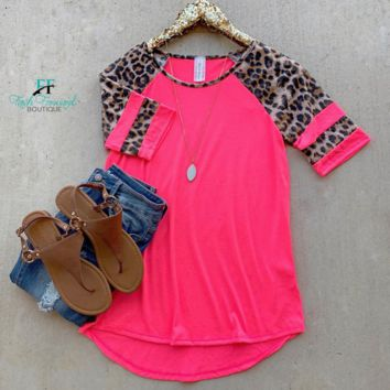 Southern Girl Leopard Top
