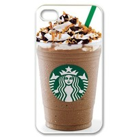 Starbucks Coffee Seatle Latte Iphone 4 4s Case hard fashion Popular plastic durable slim cover creative gift ultrathin Personalized high Quality by iDesign Studio