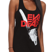 Evil Dead Chainsaw Logo Girls Tank Top | Hot Topic