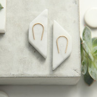 U Earrings, Horseshoe Earrings, Gold Filled, Sterling Silver