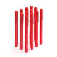 Red Signature Ballpoint Pens, Black Ink | Ballpoint Pens | Poppin
