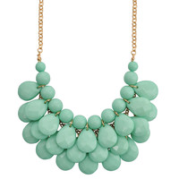 Fashion Necklace Statement Water Drop Style Bib Jewelry