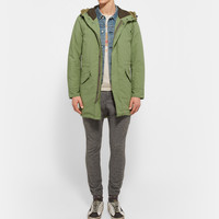 Remi Relief - Padded Cotton-Twill Parka | MR PORTER