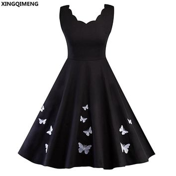 In Stock Cheap Simple Little Black Dress Cocktail Dresses Short Elegant Homecoming Dress Knee Length Fancy Formal Dresses