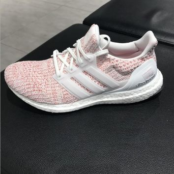 Adidas Ultra Boost 4.0 Multi Pink Women Running Sneakers Sport Shoes