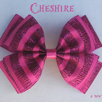 cheshire hair bow