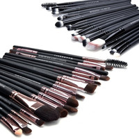Professional Makeup 20Pcs Brushes Set Powder Foundation Eyeshadow Eyeliner Lip Brush Tool SV009567|26601 = 1745379396