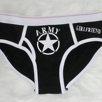 Army girlfriend panties