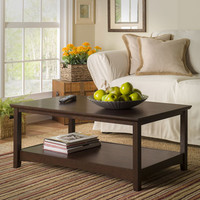 Walmart: Bush Furniture Buena Vista Coffee Table, Madison Cherry