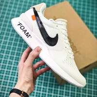 Off White X Nike Air Zoom Pegasus 3 942851 100 Sport Running Shoe - Best Online Sale