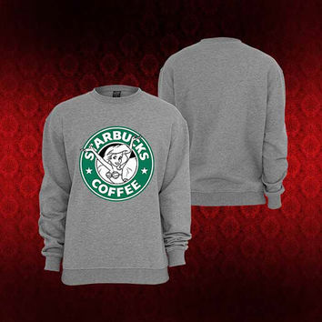 Starbuck Litlle Mermaid sweater Sweatshirt Crewneck Men or Women Unisex Size
