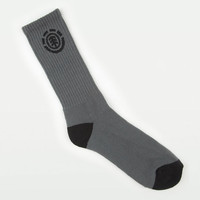 Element Icon Mens Socks Charcoal One Size For Men 20621511001