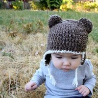 SALE Bear Toque by haleyabigail on Etsy