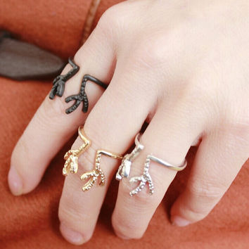 Casual AntlerRings Tail Ring Gift-222