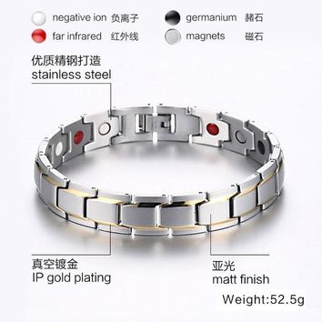 Hot Sale Shiny New Arrival Great Deal Awesome Gift Stylish Simple Design Men Bracelet [10783255363]