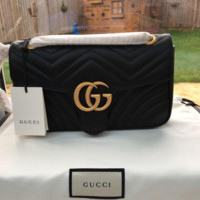 Gucci Fashion Shopping Bag Leather Chain Crossbody Shoulder Bag Satchel For Women
