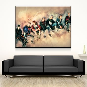 Bangtan Relax Canvas Set