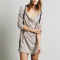 We The Free Womens Slouchy Cowl Mini Dress
