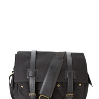 Buckled Messenger Bag