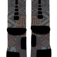 "BHM ""Multi-color"" Custom Nike Elites"