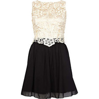 Cream Little Mistress lace dress