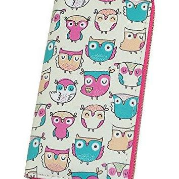 Long Wallets for Women Print Animal Cat Ladies Clutch Purse